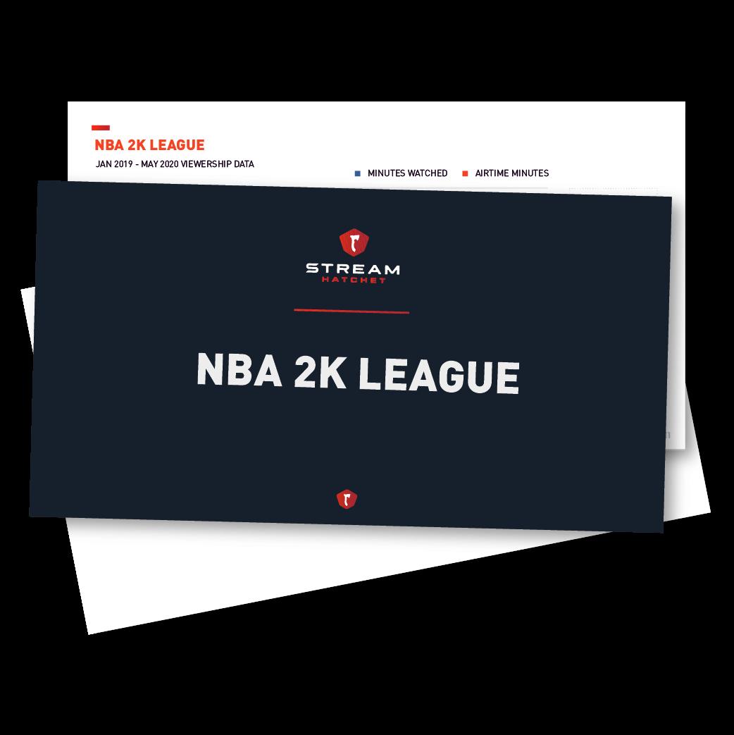 Consulting NBA 2K League